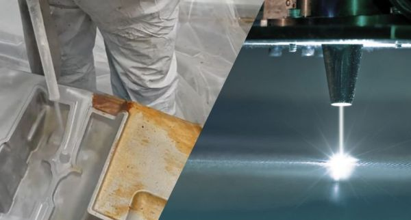 Laser cleaning vs. Dry ice blasting